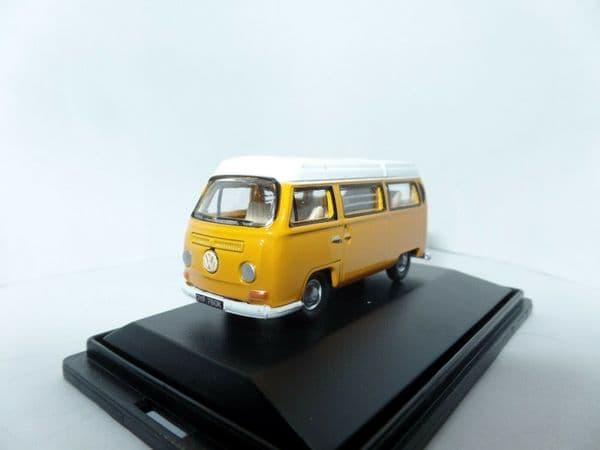 Oxford 76VW008 VW008 1/76 OO Scale VW Camper Bus Marino Yellow / White